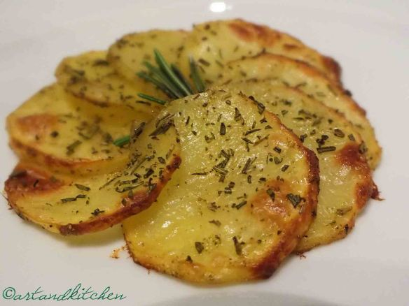 Rosemary Oven Baked Potatoes