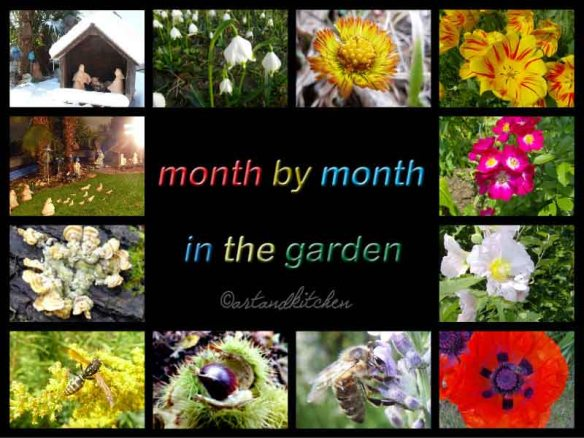month by month in the garden collection