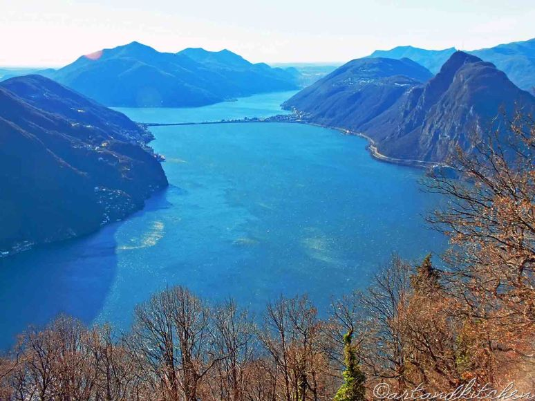 view mount  Bre by  Lugano