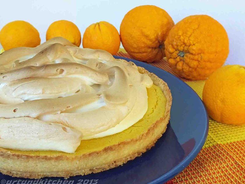 Orange Pie of the Cretan White  Mountains