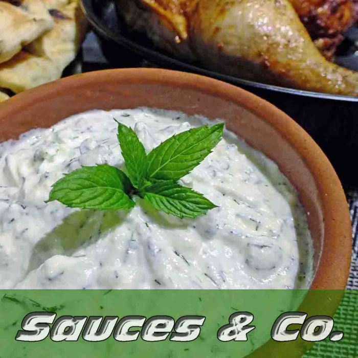 Sauces, Dressings, Spreads and Dips