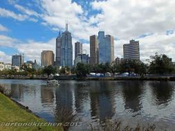 Melbourne and Yarra river 1