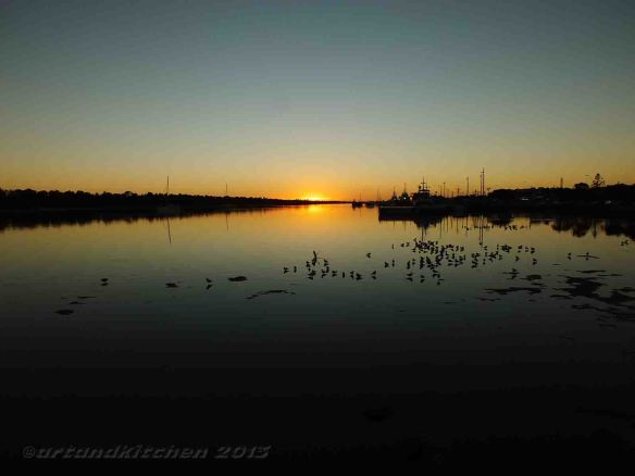Lakes Entrance Sunset2