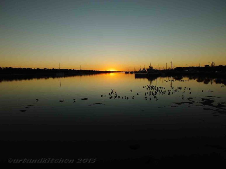 Lakes Entrance Sunset2