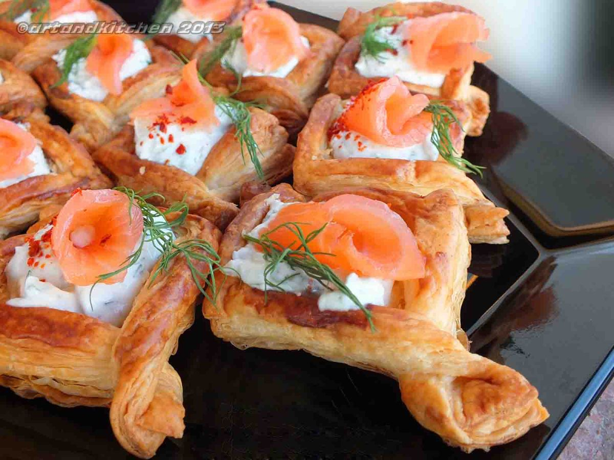 The Kitchen Salmon Recipe Puff Pastry