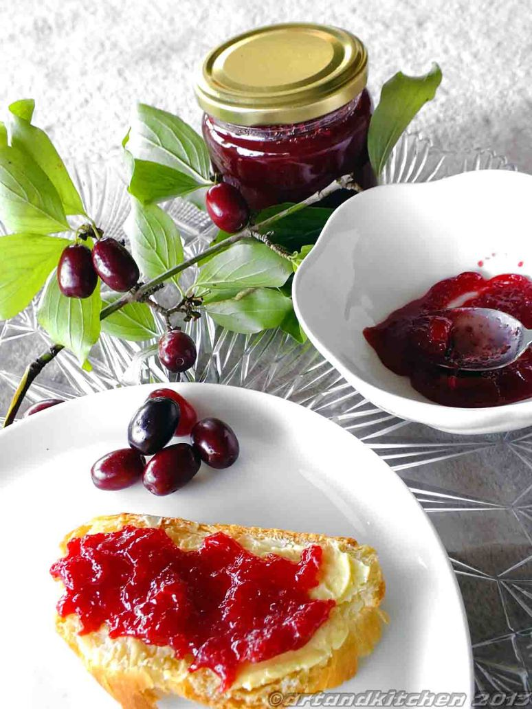 Cornelian Cherry Jam
