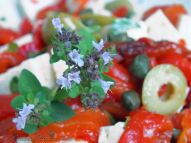 Marinated Feta Salad With Roasted Peppers 6