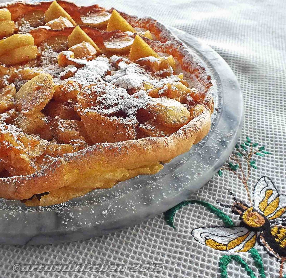 Puff Pancake with Honey-Apple Filling 6