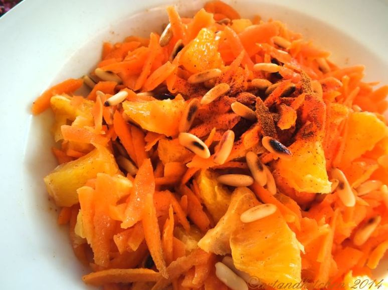Orange and Carrot Salad
