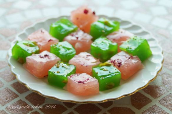 Bombay Karachi Halwa – Microwave Recipe