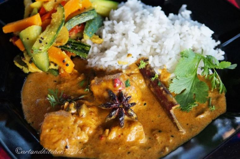 Chicken Curry with Star Anise