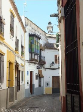 Cordoba narrow roads 2