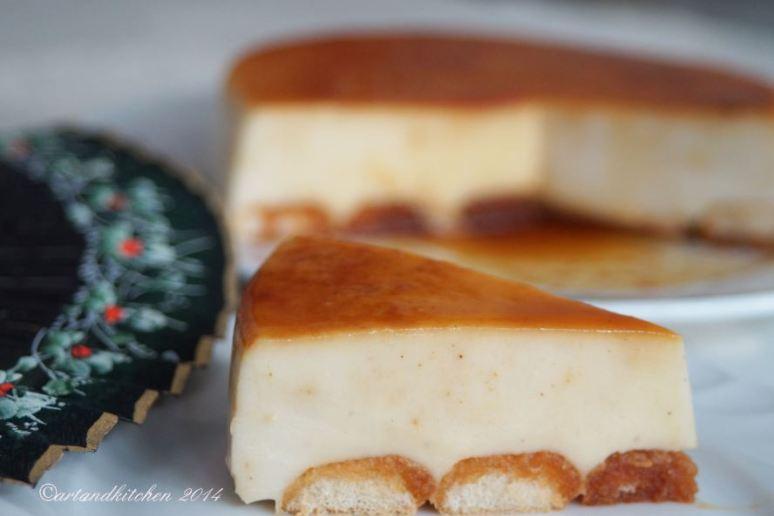 Cuajada with Caramel Sauce- Spanish Créme Brulée 2