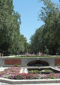 Madrid Retiro Park Entrance