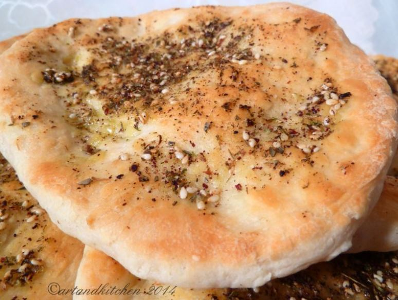 Zaatar Flatbreads