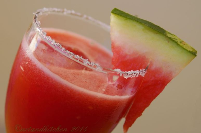 Watermelon Cocktails or Mocktails