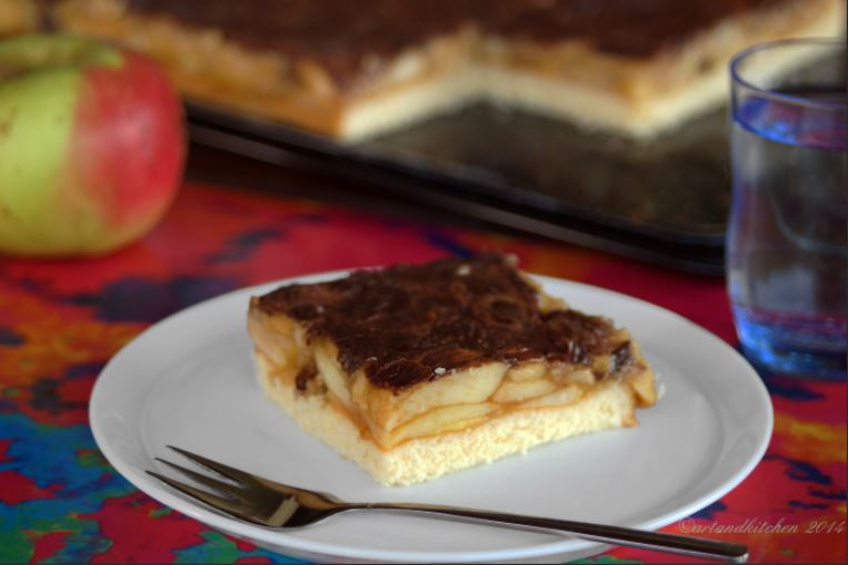 Persian Style Apple Cake Bars