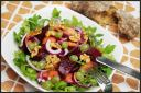 Fall Salad with Quince and Beet
