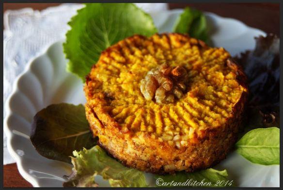 Nusät Italian Savory Pumpkin Cakes