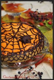 Spider Cherry Quark Cake