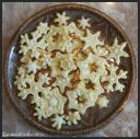 Sugar Cookies  Swnow Flakes and Stars