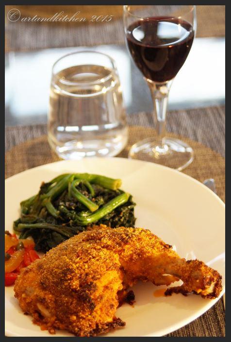 Pollo Gratinato –Parmesan Chicken au Gratin