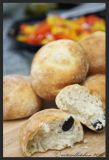 Pucce alle Olive – Italian Bread Rolls with Olives 3