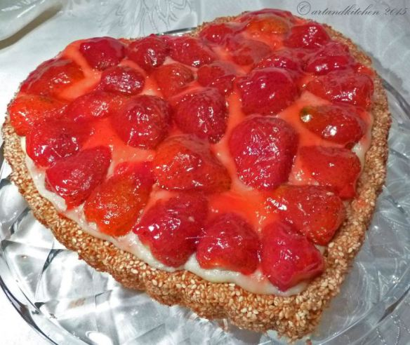 Strawberry Tart -   Cuor Di Fragola