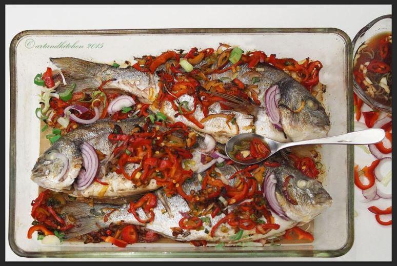 Gingered Fish 1
