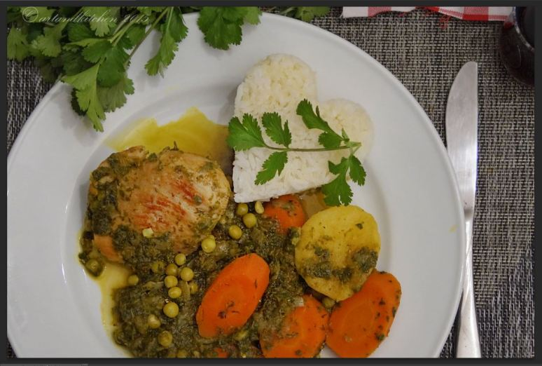 Seco de Pollo – Cilantro Chicken Stew