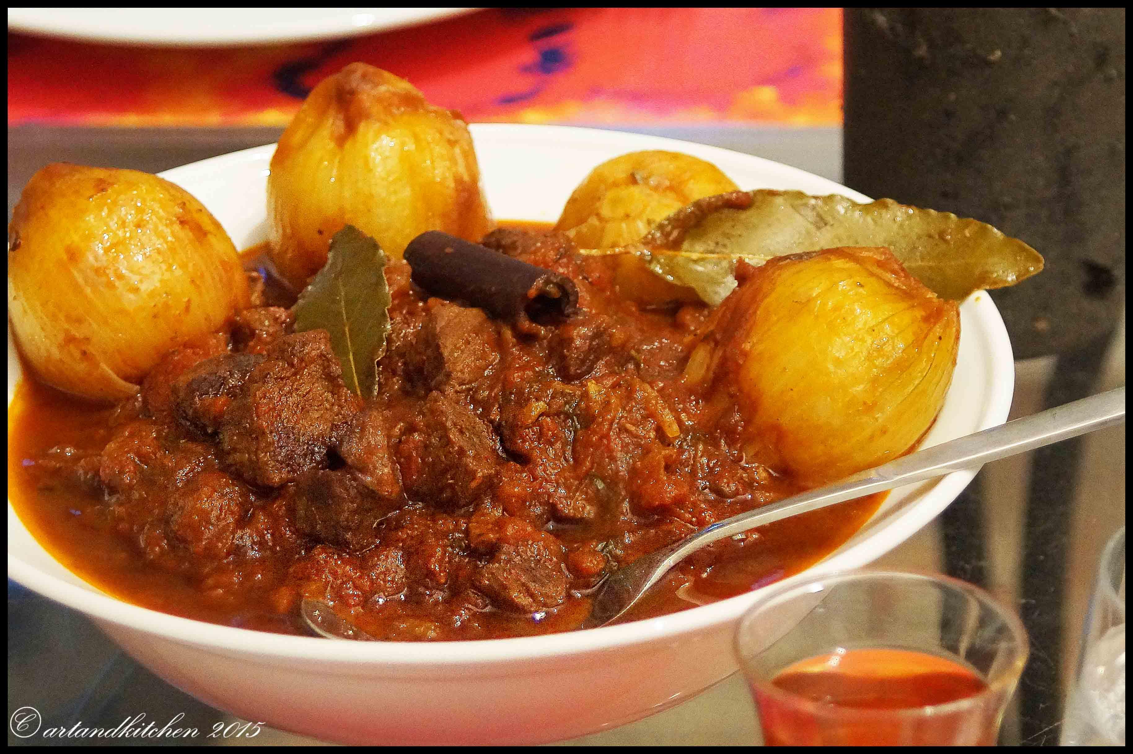 Stifado Greek Beef Stew Artandkitchen