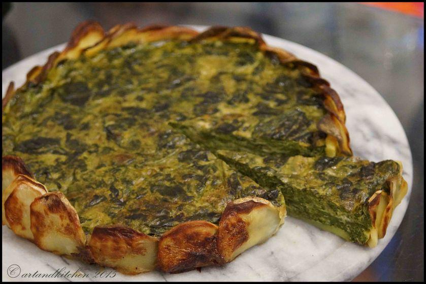 Tortilla con Espinacas – Tortilla with Spinach 2