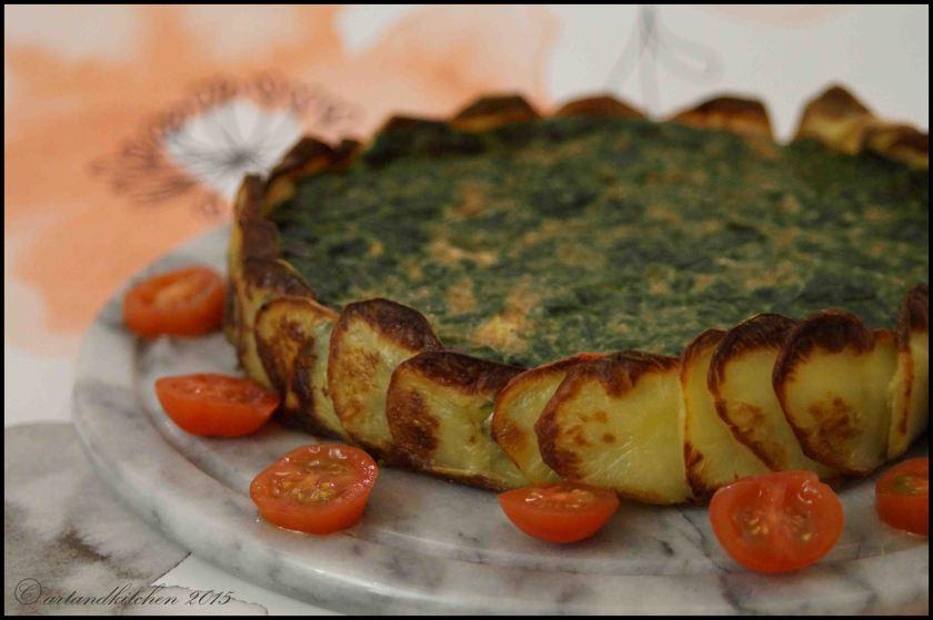 Tortilla con Espinacas – Tortilla with Spinach 3