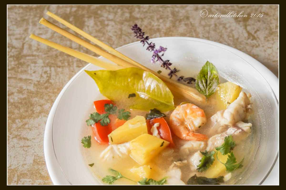 Cambodian Fish and PineappleSoup