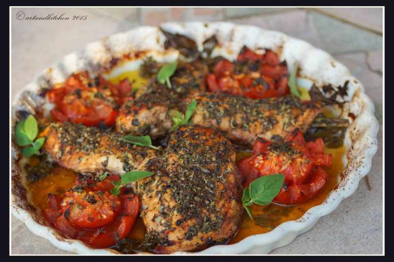 Chicken-Baked-with-Fresh-Marjoram-4