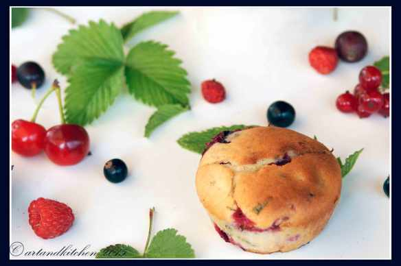 Minted-Muffins-with-Mixed-Berries-1