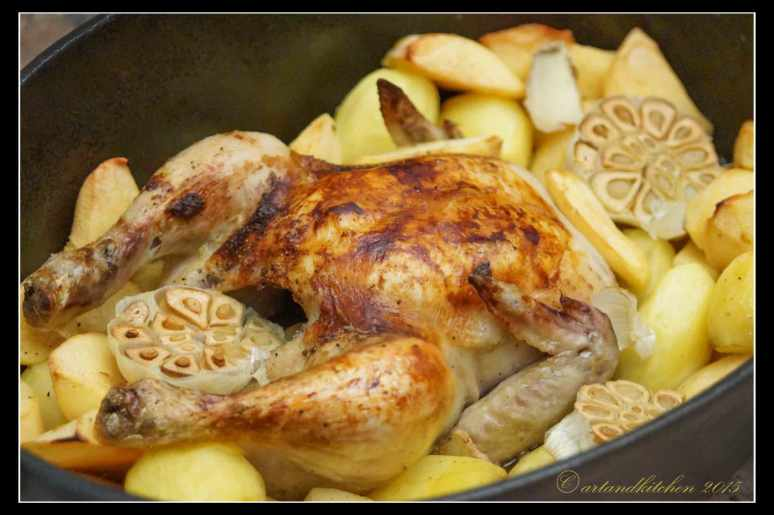 Gingered-Chicken-with-Quinces