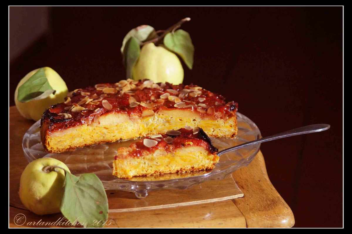 Grapes Cinamon And Orange Cake