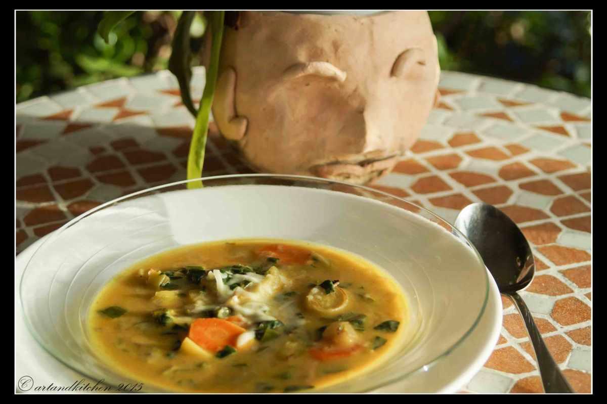 Cheese Fondue Soup
