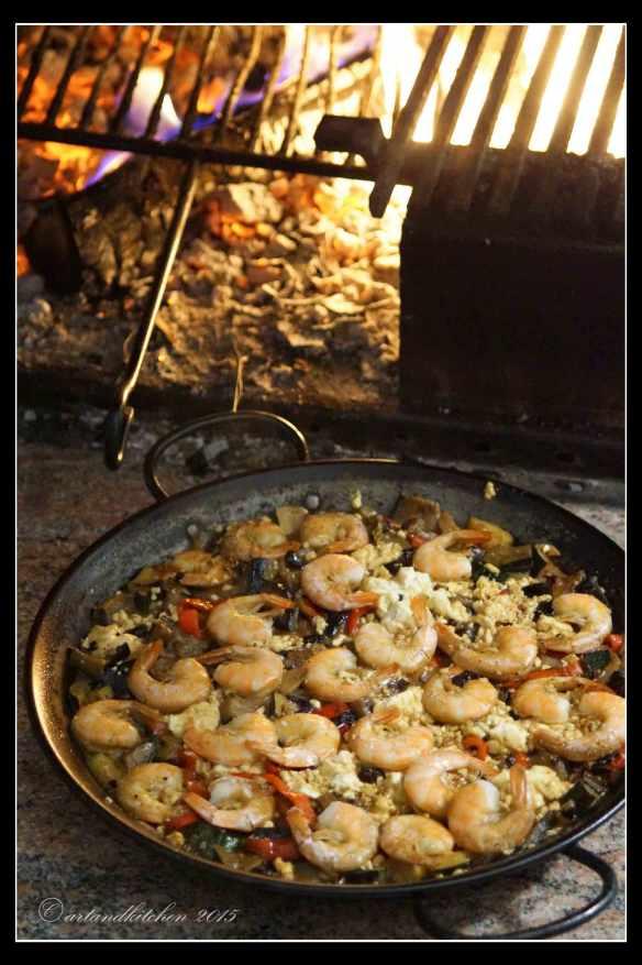 Shrimps-Saganaki-with-Vegetables-6