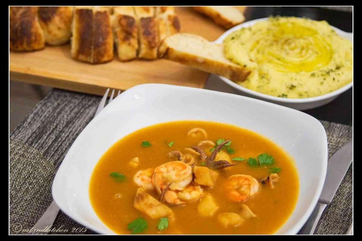 Zuppa di Pesce allo Zafferano – Soupe de Poisson withSaffron