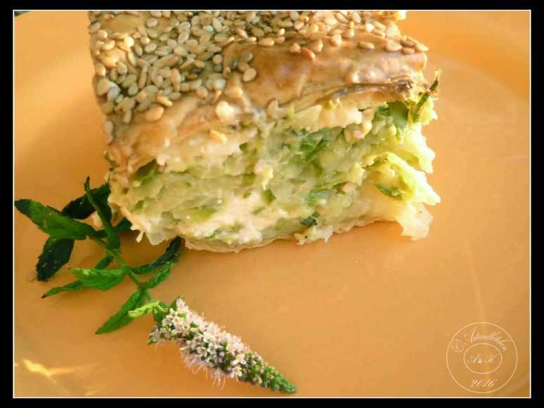 Zucchini-Pie-of-Chania-Chaniotico-Boureki-Sliced