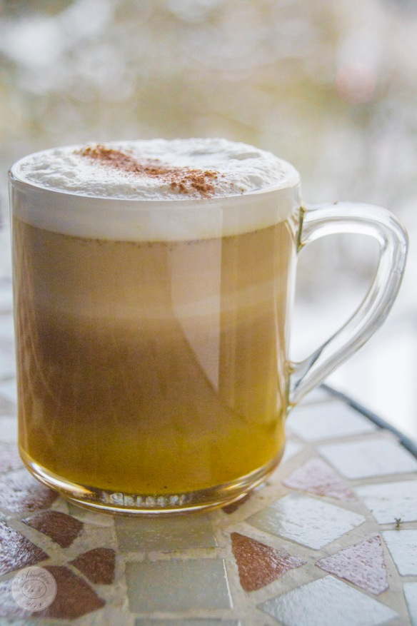 Hot Golden Spiced Frappuccino