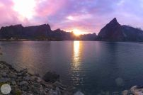Orange and Pink-Lofoten-Norway