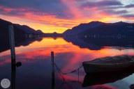 Orange and Pink-Morcote-Switzerland